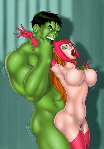 Superhero porn comics by Tram Pararam cartoon